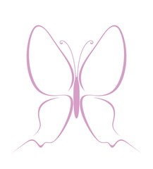 Butterfly. Abstract
