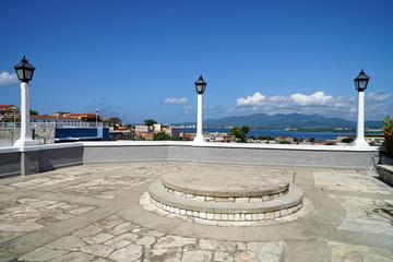 Balcón de Velázquez, Blick auf Santiago de Cuba