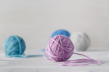 Needlework hobby concept.