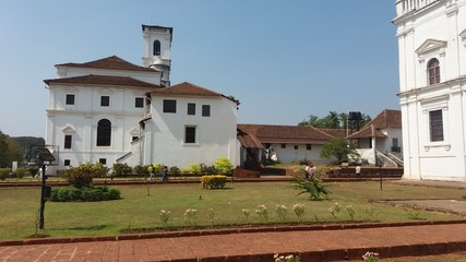 Heritage buildings and churches of GOA, India
