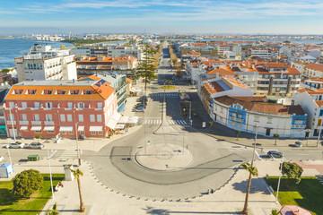 Skyview from praia da Barra in Ílhavo, Portugal