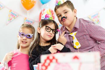 Children happy birthday party