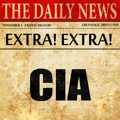 cia, newspaper article text