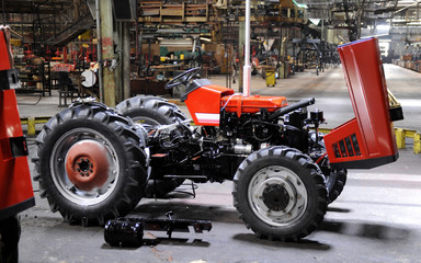 tractors and machines factory
