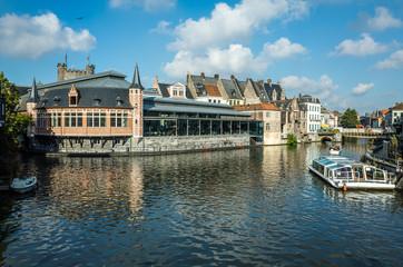 Korenmarkt in Ghent, Belgium