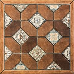 Ceramic tiles, mosaic pattern