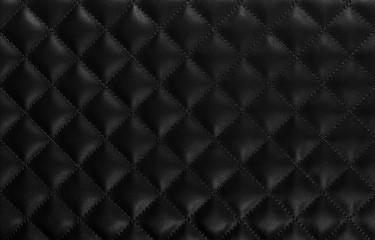 Diamond leather background. Close up.