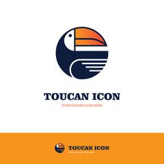 Toucan round logo