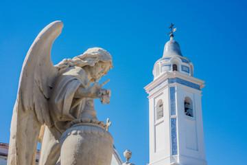 La Recoleta Cemetery in Buenos Aires, Argentina.