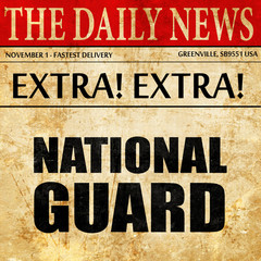 national guard, newspaper article text