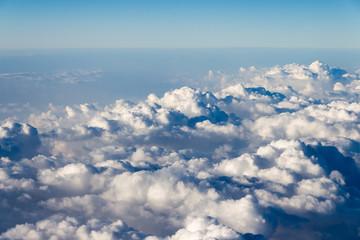Canvas Prints Heaven Wolken von oben / aus dem Flugzeug(fenster) Himmel Atmosphäre