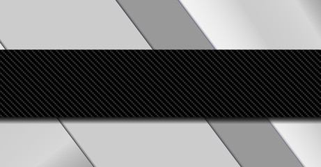Silver and black metal background. Material design vector illustration EPS10