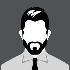 Avatar bearded man