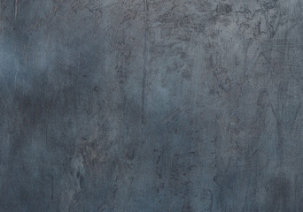Black wall stone background or texture close up