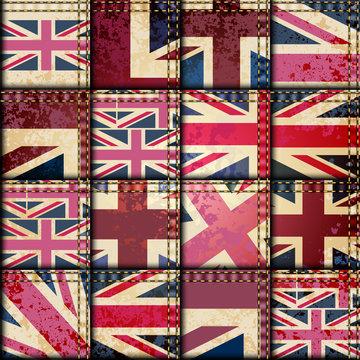 Vintage London pattern
