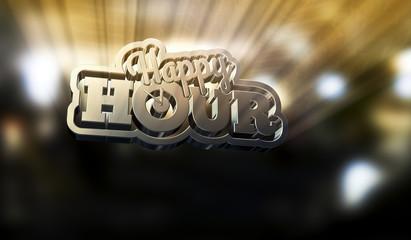 HAppy Hour - Typo Uhr BEam