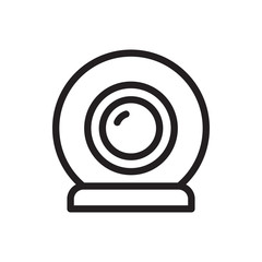 web camera icon illustration