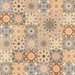 Vintage mosaic tile design