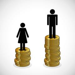 frau verdient weniger als mann