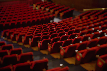 theater, cinema, chairs, rehearsal