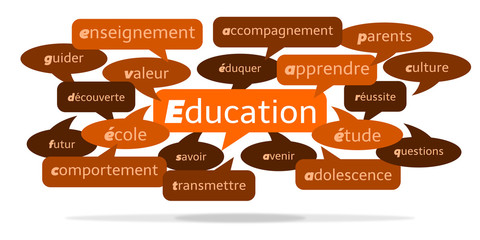 Nuage de Mots Éducation v3