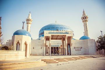 King Abdullah I Mosque in Amman, Jordan