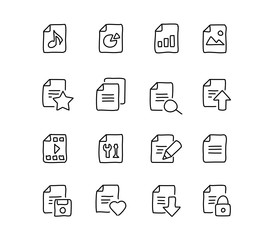 Hand Drawn File Icons