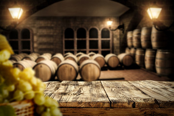 table background and barrels