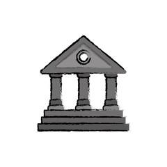 University building symbol icon vector illustration graphic design