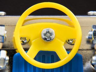 車のおもちゃのハンドル