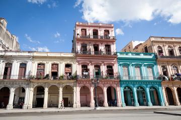 Printed roller blinds Havana Gebäude in Havana, Cuba