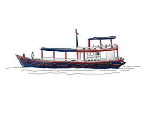Ship sketch for your design