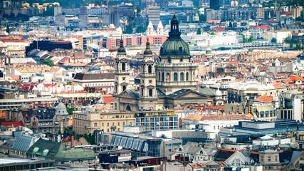 Stadtbild von Budapest, Ungarn