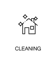 Cleaning flat icon