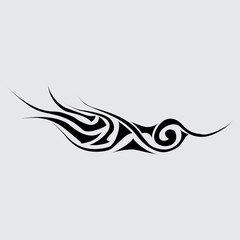 Part of the tattoo. Abstract symbol
