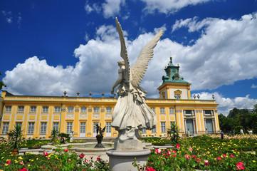 Wilanow palace Poland history