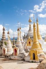 Stupas, Thaung Tho, Myanmar