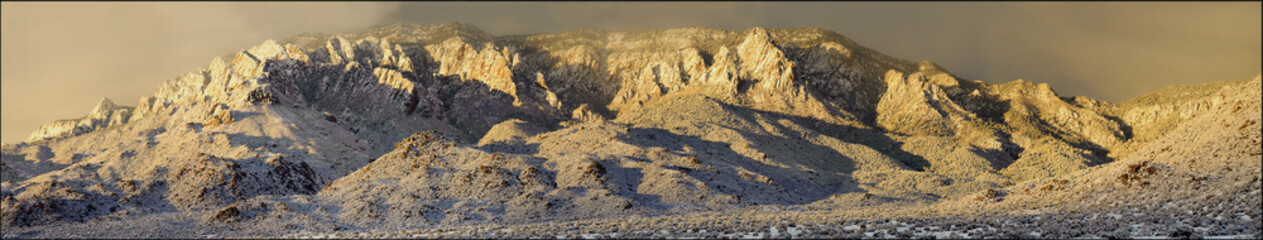 Sandia Mountains after Snow Storm
