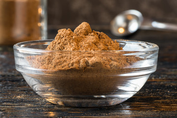 Pumpkin pie spice blend in an ingredient bowl
