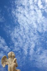 prière de l'ange aux nuages