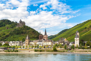 Romantic castles in Rhine valley Fototapete