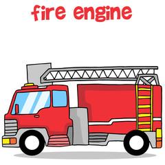 Fire engine transportation collection design
