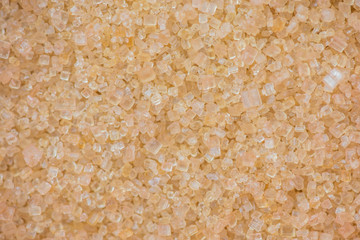 close up  brown sugar as texture background