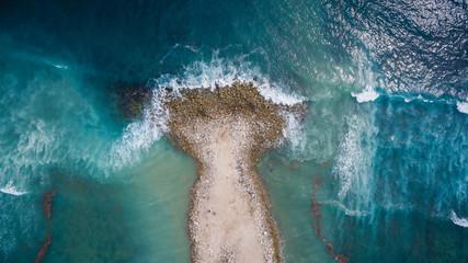 breakwater on shore