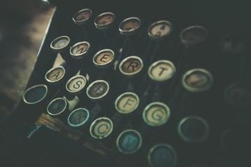 Rusty Old Typewriter