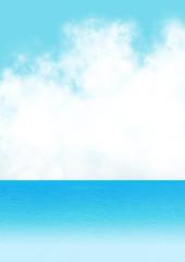 空と海 背景素材