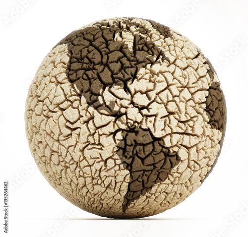 Deserted earth