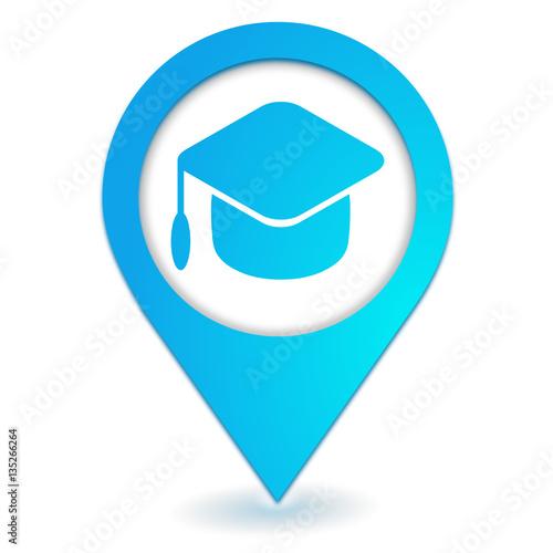 u0026quot formation sur symbole localisation bleu u0026quot  immagini e vettoriali royalty free su fotolia com