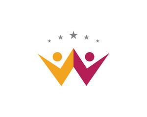 V success people logo