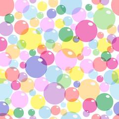 Background colored bubbles
